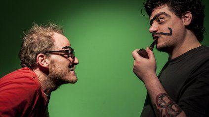 Libertanga. Pedro y Javier. Foto gentileza Diego Páramo.
