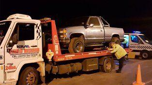 Interceptaron camión de auxilio mecánico con casi 120 kilos de marihuana