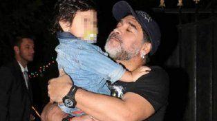 Internaron en Miami a Dieguito Fernando Maradona