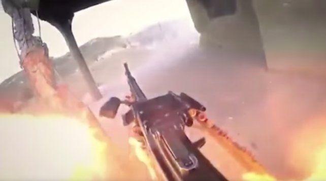 Soldado del Estado islámico graba su propia muerte con una GoPro