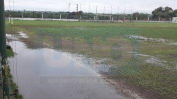 sin futbol en la liga paranaense por el mal tiempo