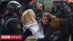 El Referéndum en Cataluña terminó con más de 844 heridos por los choques con la Guardia Civil