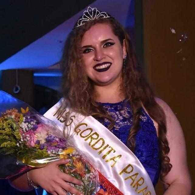 La ganadora del concurso 2017.