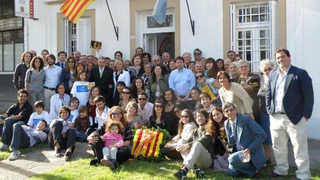 Participación. En Paraná la institución lleva 21 años rescatando las raíces catalanas.