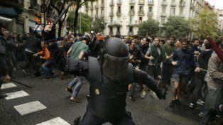 Conmoción. Hubo un extenso repudio a la represión.