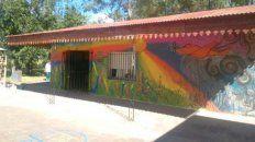 Escuela fumigada de Santa Anita.