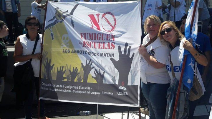 Es un precedente que va a ayudar a los docentes de escuelas fumigadas en Argentina
