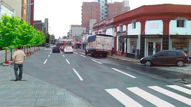 Un renders que presentó la Municipalidad de Paraná.