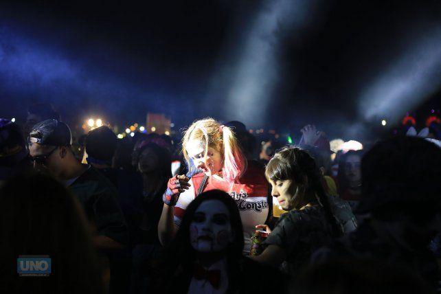 En las carpas habrá sorpresas durante toda la noche. Foto UNO Diego Arias.