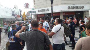 Fuertes discusiones en el centro de Paraná.
