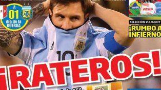 Un diario peruano fue durísimo con Argentina