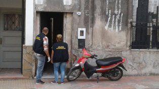 Acusado. El sospechoso vive en calle Monte Caseros de la capital provincial. Foto: PER