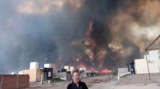 impresionantes imagenes de los incendios en san luis