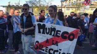 Pidió por al Muñeco como DT de la selección en La Bombonera