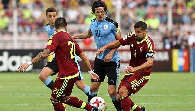 Uruguay se aseguró el repechaje a Rusia 2018