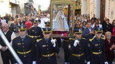 Celebración. Mañana tras la procesión, a las 17.30, habrá misa.