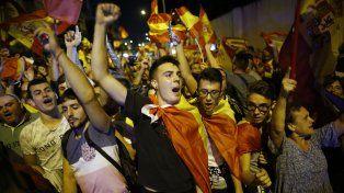 Una más. Para el lunes preparan otra multitudinaria concentración en Barcelona