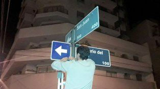 Calle Rosario Tala ya cambió de sentido