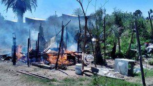 Un joven con problemas psiquiátricos incendió su propia vivienda