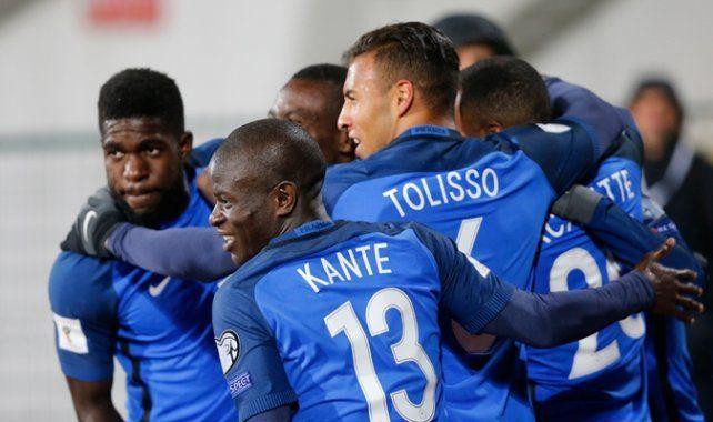 Francia ayer quedó a un paso de Rusia 2018.
