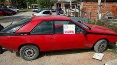 La coupé se fabricó en Argentina desde el 82 hasta el 92. Foto PER.