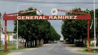 Pueblo conmocionado. La mujer asesinada era muy reconocida en la localidad de Ramírez.