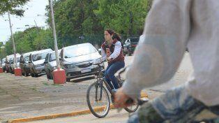 Cuando salir de casa y agarrar la bicicleta se vuelve una rutina en San Salvador