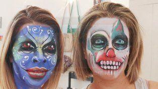 El maquillaje se transforma en arte sobre la piel