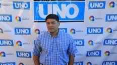 Larrea fue elegido para la foto de los Destacados 2016 que organizó UNO. Foto Juan Ignacio Pereira.