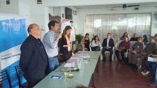 Ferias. Se presentó el calendario de ocho eventos para el año próximo a exponentes del sector.Gentileza/Municipalidad de Paraná