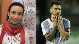 Yohana Fucksy Lionel Messi.