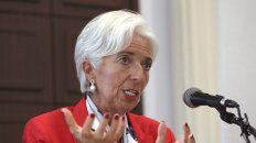 Directora gerente del Fondo Monetario Internacional, Christine Lagarde