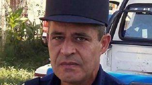 El jefe de la policía en Concordia. Marcelo Den Dawn