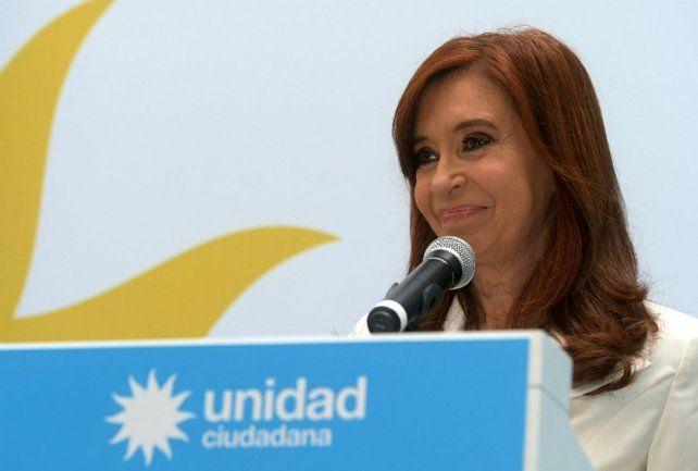 Cristina Kirchner: Sé que encabezo la lista negra del Presidente