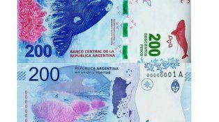 El billete de $ 200 ganó el premio al mejor de latinoamérica