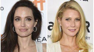 Angelina Jolie y Gwyneth Paltrow se animaron a hablar.