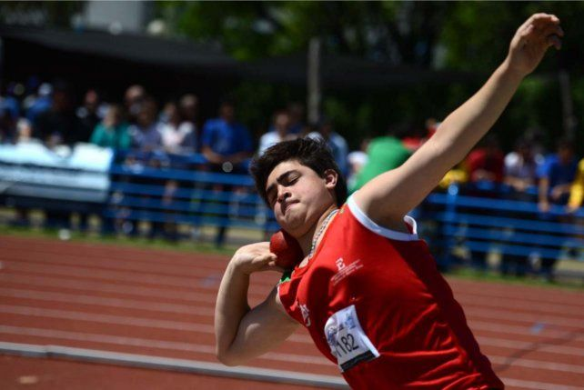 El deportista entrerriano Nazareno Sassia deslumbró en los Juegos Nacionales Evita