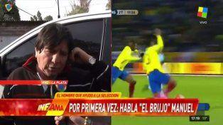 El Brujo Manuel con Infama: Abrí caminos para que la Selección haga goles