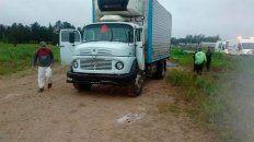 accidente fatal en ruta 18: camion despisto, el chofer salio despedido y fallecio