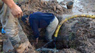 El suministro de agua está resentido en el centro y distintos barrios de Paraná