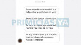 Tamara Pettinato amenazada por su plomero