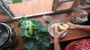 A las 17 comienza el taller de cocina para niños. Foto UNO Juan Ignacio Pereira.