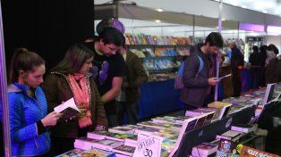 La Feria del Libro independiente es un lindo paseo para recorrer. Foto UNO Juan Manuel Hernández.
