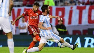 River se durmió y empató con Atlético Tucumán