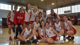 Las chicas U17 de Concepción no pudieron con Vélez: 75 a 46.Gentileza/Prensa FBER
