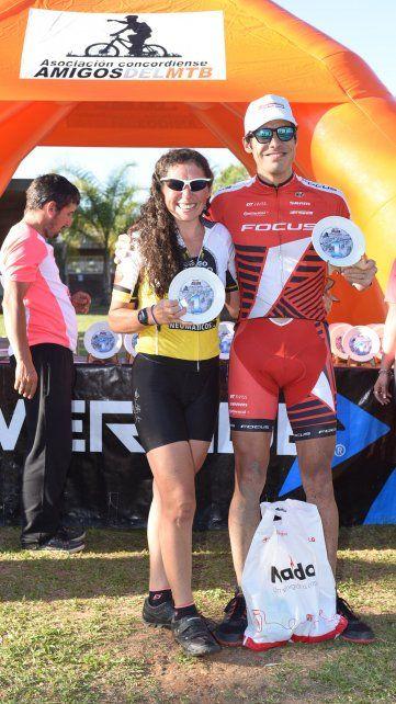 Los ganadores de la jornada que se realizó en suelo concordiense.