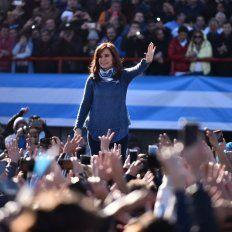 Cristina. Reiterará su llamado a unificar el voto opositor.