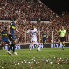 Le hicimos frente a un gran equipo como es Boca, manifestó el jugador uruguayo.ovación/Juan Ignacio Pereira