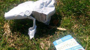 Más basura. Foto UNO.