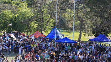 En Paraná durante el fin de semana se observó un gran movimiento de gente. Foto UNO Diego Arias.